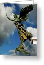 Flying Angel Greeting Card