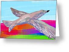 Flying Bird II Greeting Card