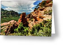 Flying Buttress 04-004 Greeting Card