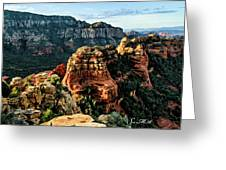 Flying Buttress 04-227 Greeting Card