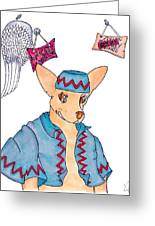 Flying Chihuahua's Greeting Card