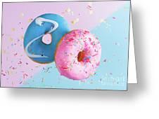 Doughnuts Treat Greeting Card