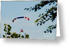 Paraplane Flying High Greeting Card