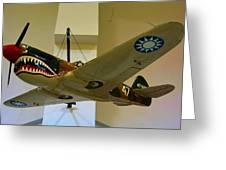 Flying Tigers Aircraft Greeting Card