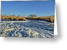 Foam On The Water Greeting Card