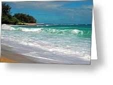 Foamy Surf Greeting Card