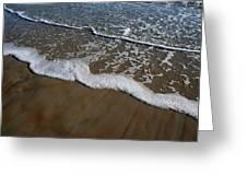 Foamy Water Greeting Card