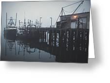 Fog Before Sunrise #2 Greeting Card