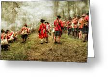 Fog Of War Battle Scene Greeting Card by Randy Steele