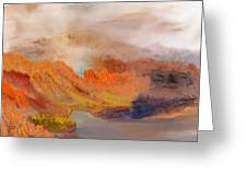 Foggy Autumnal Dream Greeting Card