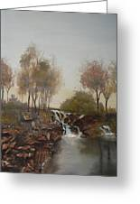 Foggy Creek Greeting Card