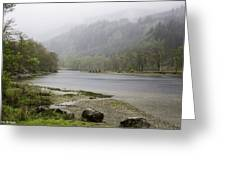 Foggy Day At Loch Lubnaig Greeting Card
