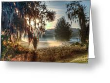Foggy Dreamworld 2 Greeting Card