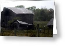 Foggy Farm Greeting Card