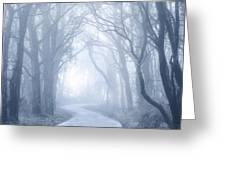 Foggy Holloway Greeting Card
