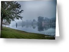 Foggy Morning In Alva Florida Greeting Card