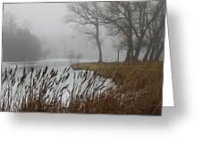Foggy Greeting Card