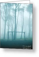 Foggy Swing Greeting Card