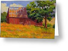 Foglesong Barn Greeting Card