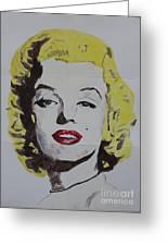 Folded Marilyn Greeting Card