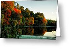 Foliage Reflections Greeting Card