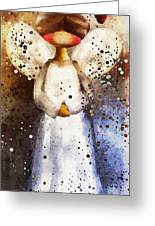 Folk Art Angel Greeting Card