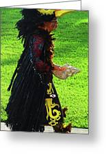 Folk Costume In Mexico 2 Greeting Card