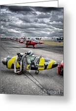 Folland Gnat  Greeting Card