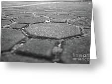 Follow The Brick Road Greeting Card