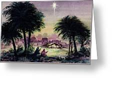 Follow The Star  Greeting Card