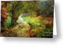 Following My Vision Greeting Card