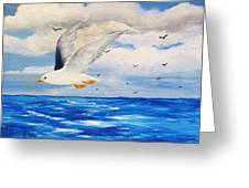 Following Sea Greeting Card