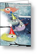 Following The Stars Greeting Card