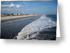 Folly Beach Charleston Sc Greeting Card