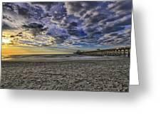 Folly Beach Sunrise Greeting Card