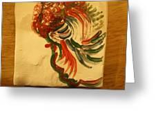 Folorn - Tile Greeting Card