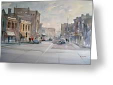 Fond Du Lac - Main Street Greeting Card