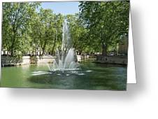 Fontaine De Nimes Greeting Card