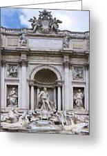 Fontana De Trevi Greeting Card