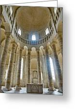 Fontevraud Abbey Chapel, Loire, France Greeting Card