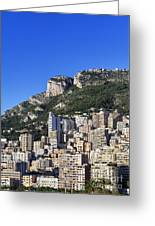 Fontvieille Monaco Greeting Card