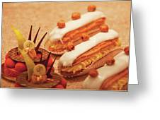Food - Cake - Little Cakes Greeting Card