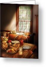 Food - Sunday Brunch Greeting Card by Mike Savad
