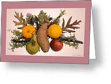 Food Bouquet Greeting Card