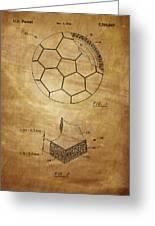 Football Patent Greeting Card