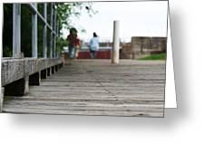 Footbridge Greeting Card
