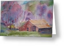 Foothills Farm Ll Greeting Card