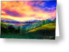 Foothills Greeting Card