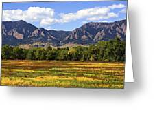 Foothills Of Colorado Greeting Card