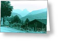 Foothills Of The Alps Greeting Card